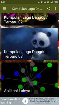 Kumpulan Lagu Dangdut Terbaru apk screenshot