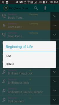 Ringtone Creator screenshot 1