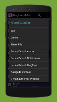Ringtone maker apk screenshot