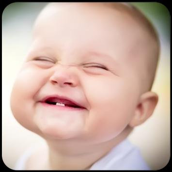 Baby funny laugh