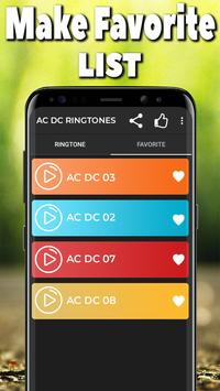 AC DC Ringtones Free screenshot 2