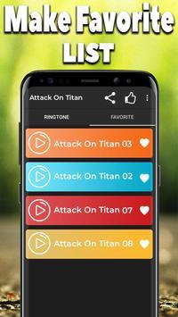Attack On Titan Ringtones Free ⭐⭐⭐⭐⭐ screenshot 3