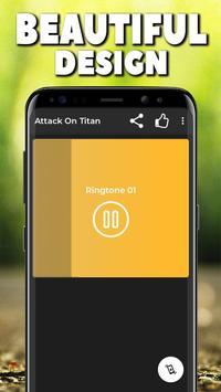 Attack On Titan Ringtones Free ⭐⭐⭐⭐⭐ screenshot 2
