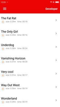 Popular Film music ringtones screenshot 4