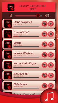 Scary Ringtones Free poster