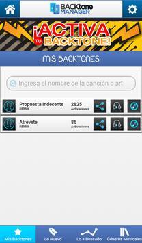 Backtone Manager screenshot 4