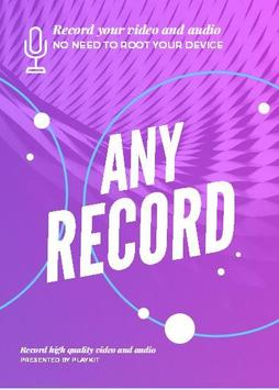 Any Record poster