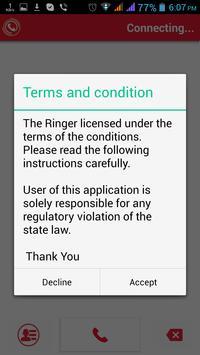 Ringer screenshot 1