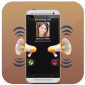 Automatic Callers Name Speaker icon