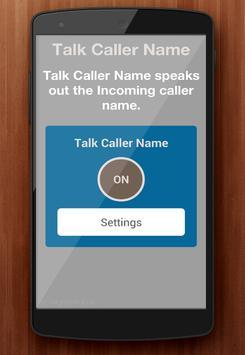 Automatic Callers Name Speaker screenshot 1