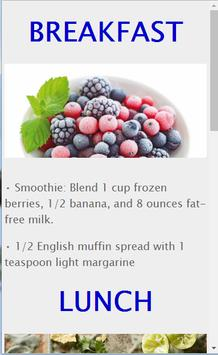 Diet Recipes to lose weight screenshot 1