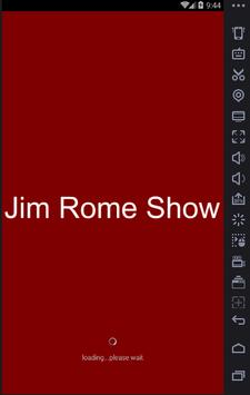 Radio For Jim Rome Show poster