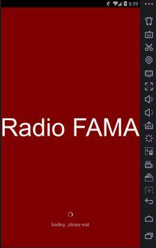Radio FAMA Tomaszów poster