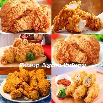 Resep Ayam Crispy Spesial poster
