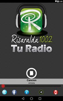 Risaralda 100.2 FM TU RADIO apk screenshot