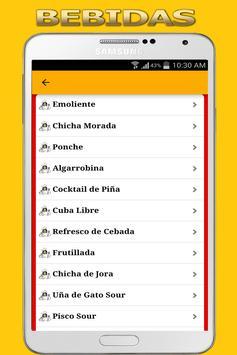 Recetas de Comida Peruana screenshot 5