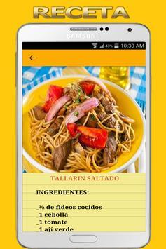 Recetas de Comida Peruana screenshot 8