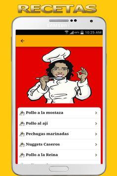 Recetas de Comida Peruana screenshot 1
