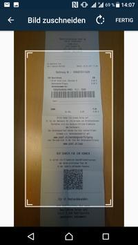 PaperCut -mobile bill scanning apk screenshot