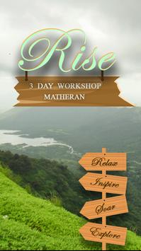 Rise Workshop poster