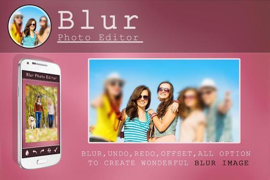 Blur Photo Editor poster