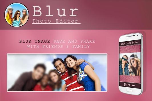 Blur Photo Editor apk screenshot