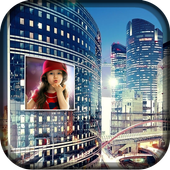 City Hoarding Photo Frame icon