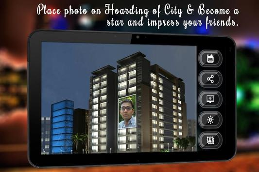 City Hoarding Photo Frame apk screenshot