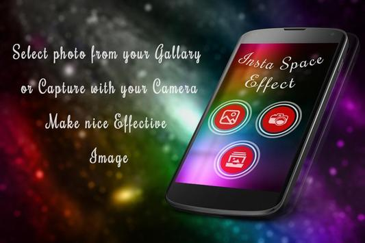 Insta Space Effect poster
