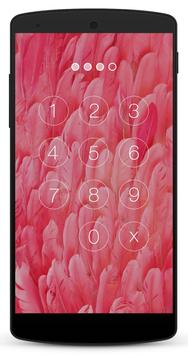 Pink Lock Screen screenshot 1