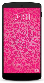 Pink Lock Screen screenshot 7