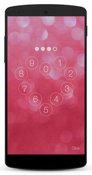 Pink Lock Screen screenshot 4