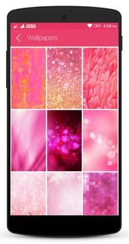 Pink Lock Screen screenshot 5
