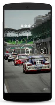 Race Car Lock Screen screenshot 3