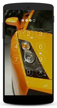 Race Car Lock Screen screenshot 1