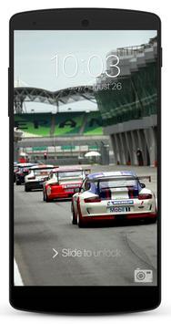 Race Car Lock Screen screenshot 2