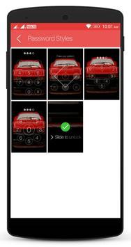 Race Car Lock Screen screenshot 7