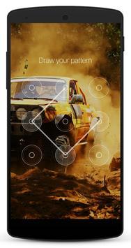 Race Car Lock Screen screenshot 5
