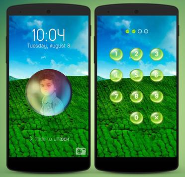 WaterDrop Lock Screen apk screenshot