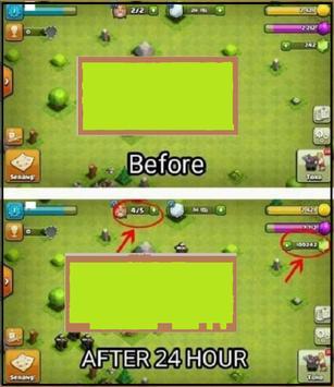 Super Gems for coc old (Prank) apk screenshot