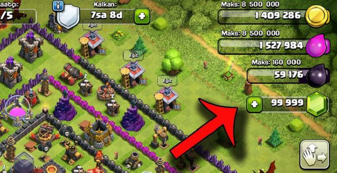 Pro Hack for coc 100% (Prank!) apk screenshot