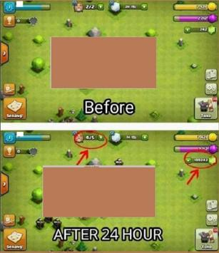 Free Gems Generator for coc x99999 (Prank) apk screenshot