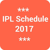 IPL Schedule 2018 icon