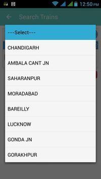 My Live Trains Enquiry apk screenshot