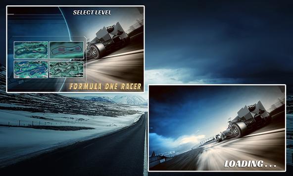 Formula One Racer poster