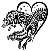Unique Tattoo Design icon