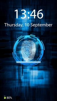 Fingerprint Screen Lock Prank apk screenshot