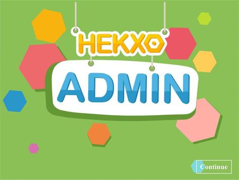 HEKXO Admin poster