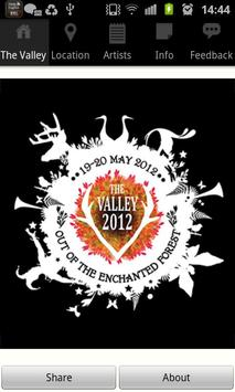 The Valley Festival poster
