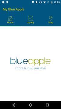 My Blue Apple poster